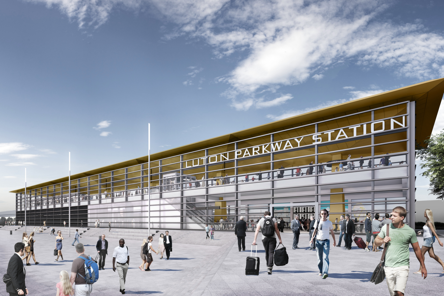 London Luton Airport Limited (LLAL) developments